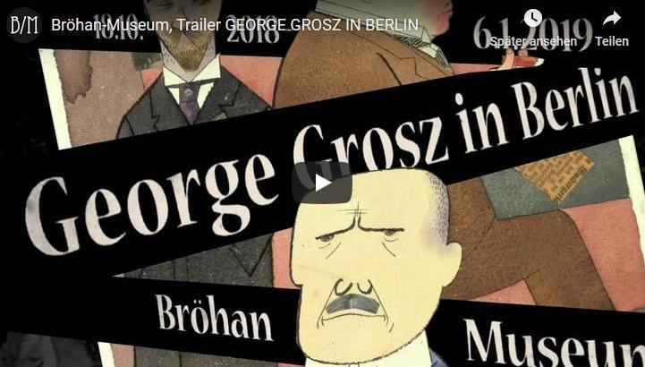 George Grosz In Berlin Brohan Museum